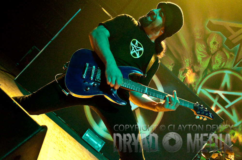 Anthrax – The Congress Theater